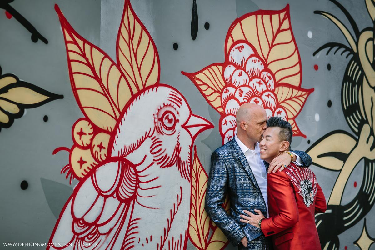graffiti-wall-LGBTQ-couple-same_sex-gay-grooms-wedding-photography-diversity-photographer-groom-portrait-love_is_love-rainbow