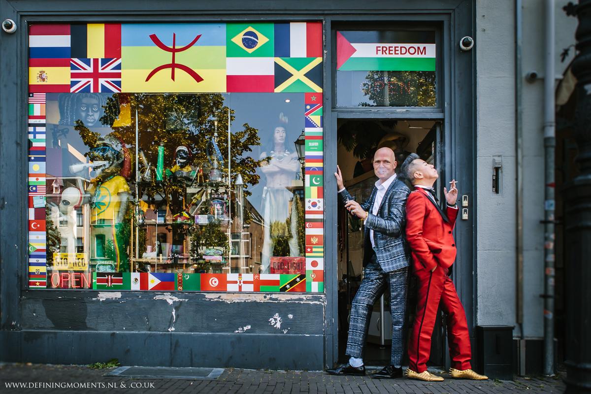 holland-netherlands-coffee_shop-LGBTQ-couple-same_sex-gay-grooms-wedding-photography-diversity-photographer-groom-portrait-love_is_love-rainbow