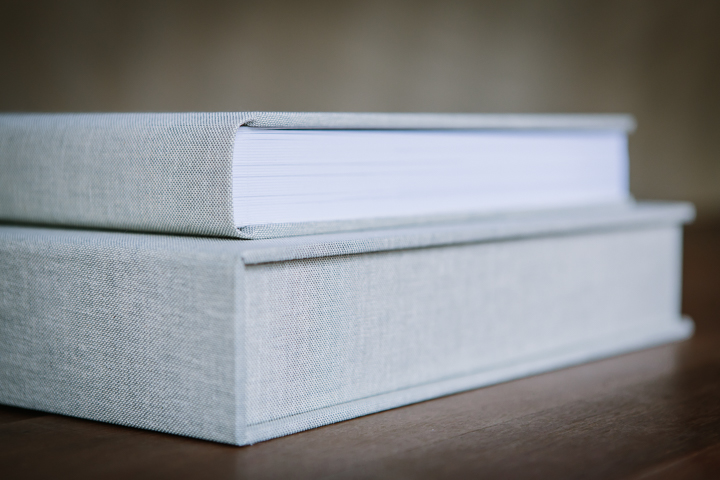 high quality lay-flat flush mount wedding album albums design natural colour grey linen