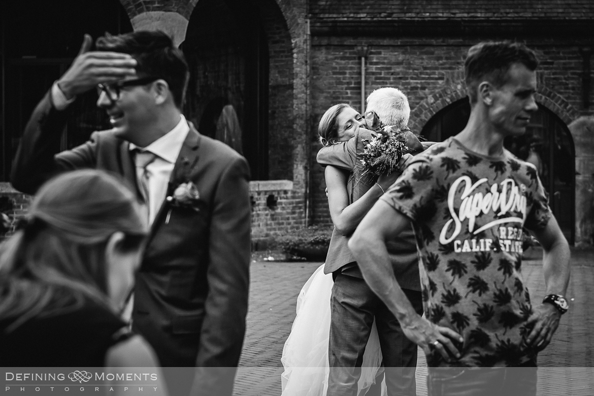 surrey documentary wedding photographer documentary natural stylish contemporary wedding photography wedding ceremony just married