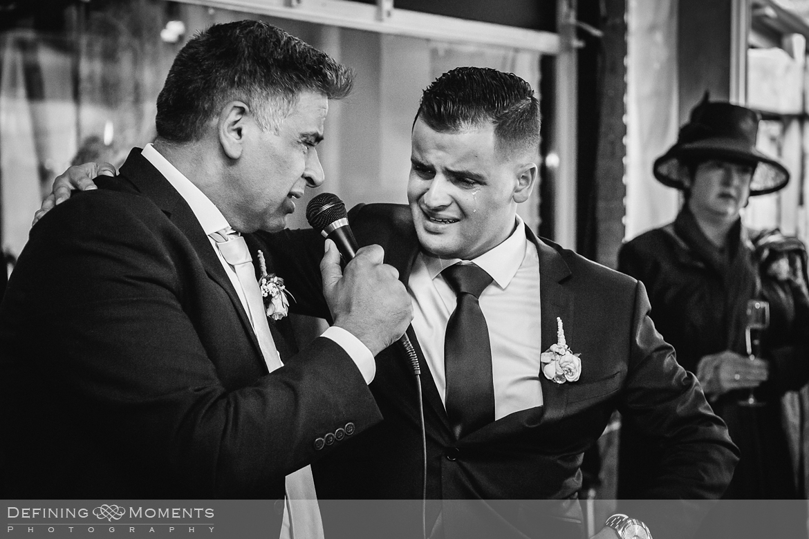 surrey documentary wedding photographer documentary natural stylish contemporary wedding photography wedding reception speech