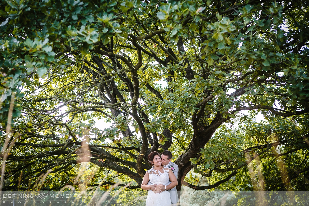 award-winning surrey documentary wedding photographer documentary natural stylish contemporary wedding photography outdoor portrait session bride groom