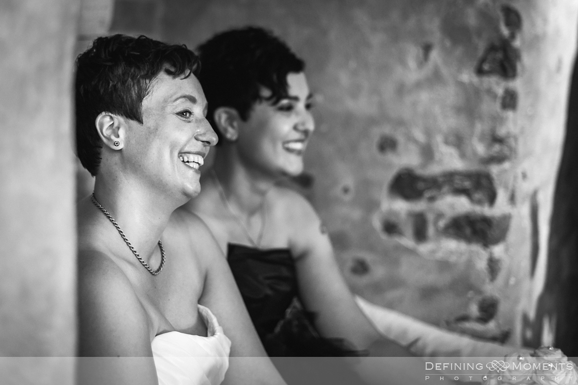 amberley_castle east_sussex de_vere_estate horsley farnham surrey wedding photographer same_sex lesbian gay castle wedding lgbt brides black dress