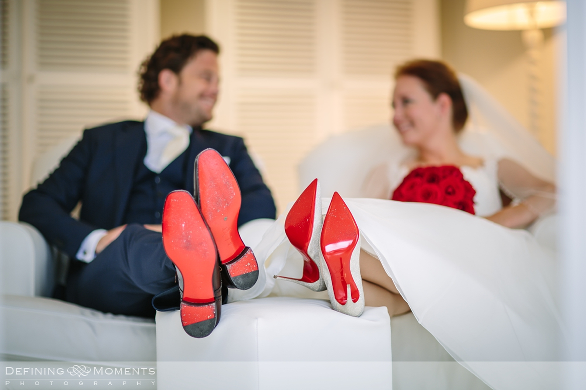 matching louboutin wedding shoes grand exclusive wedding mansion surrey sussex award-winning documentary wedding photographer natural stylish contemporary wedding photography