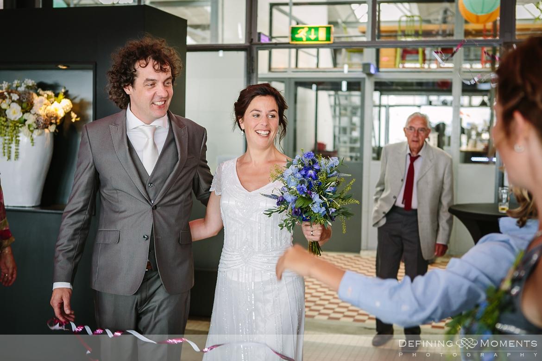 industrial wedding venue rotterdam vertrekhal award-winning surrey documentary wedding photographer natural stylish contemporary wedding photography