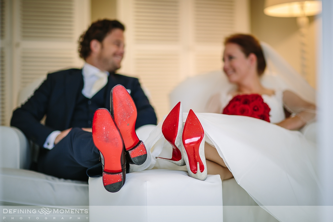 louboutin wedding shoes his_hers elegant stately manor estate boutique exclusive wedding venues surrey documentary wedding_photographer authentic unposed natural photography