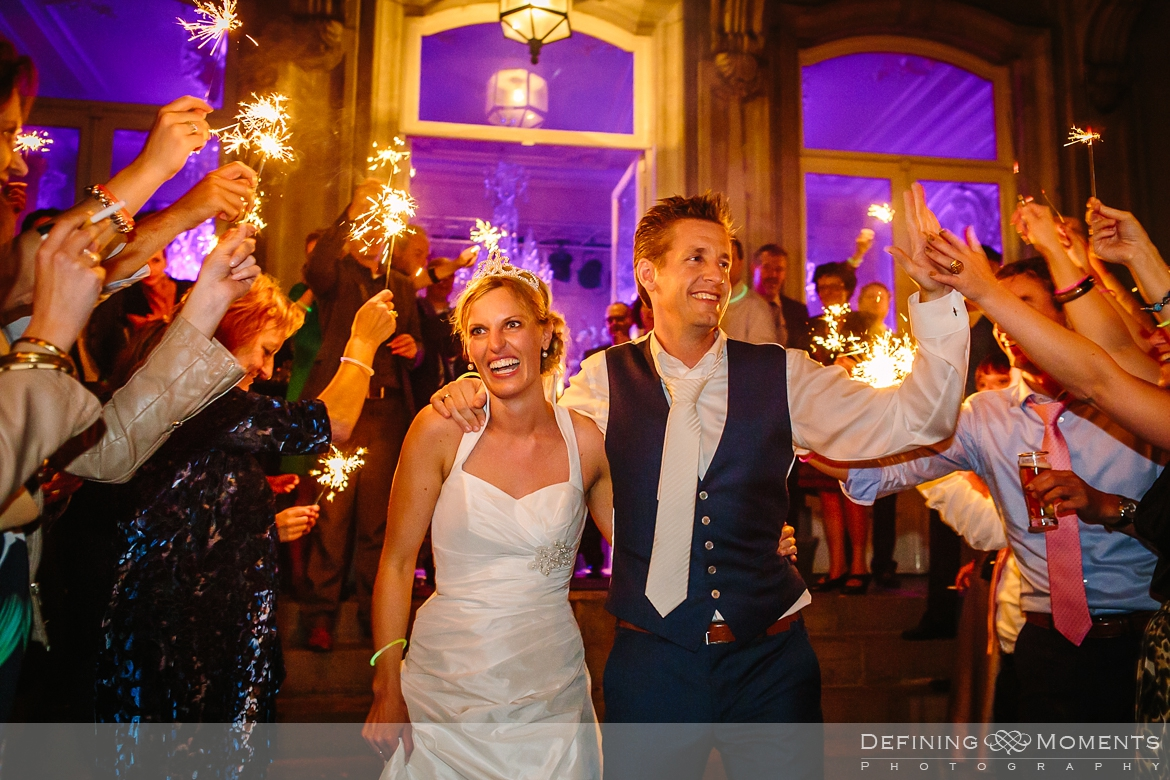 sparklers exit wolfslaar elegant stately manor estate boutique exclusive wedding venues surrey documentary wedding_photographer authentic unposed natural photography