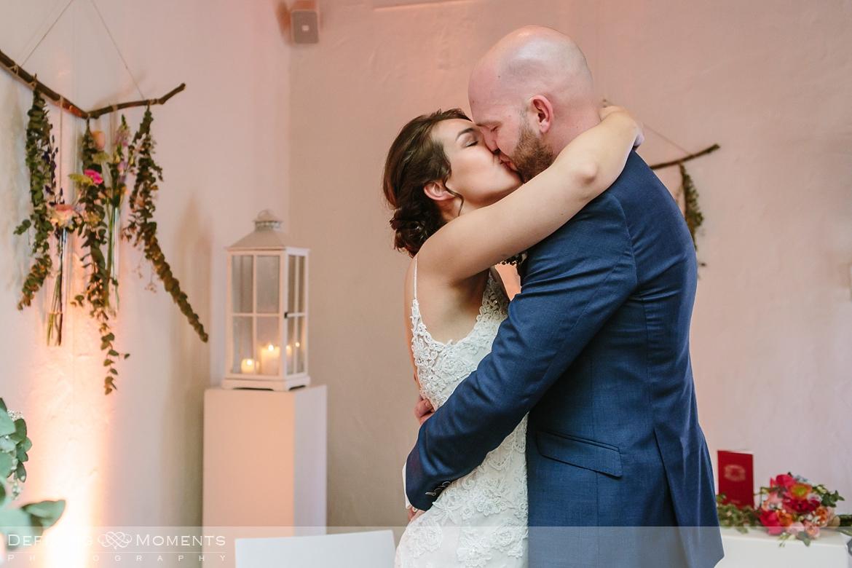 kiss unique rustic mill wedding venue surrey authentic romantic photographer photography orangerie bridal portraits