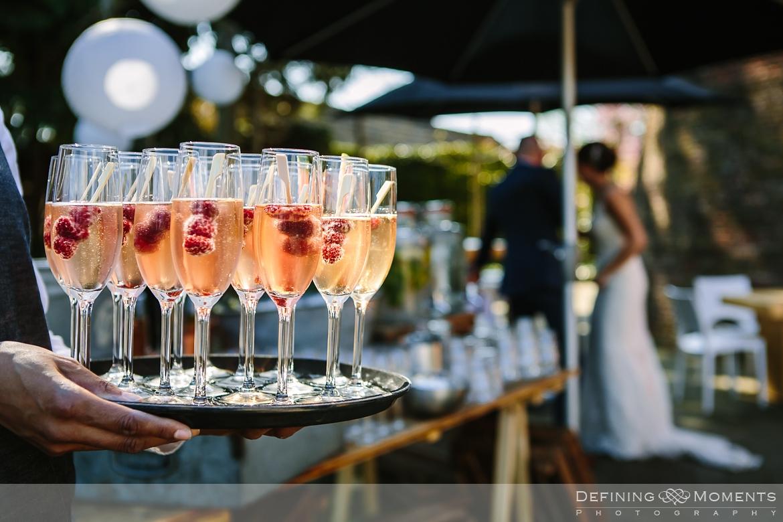 wedding bubbles unique rustic mill wedding venue surrey authentic romantic photographer photography orangerie bridal portraits