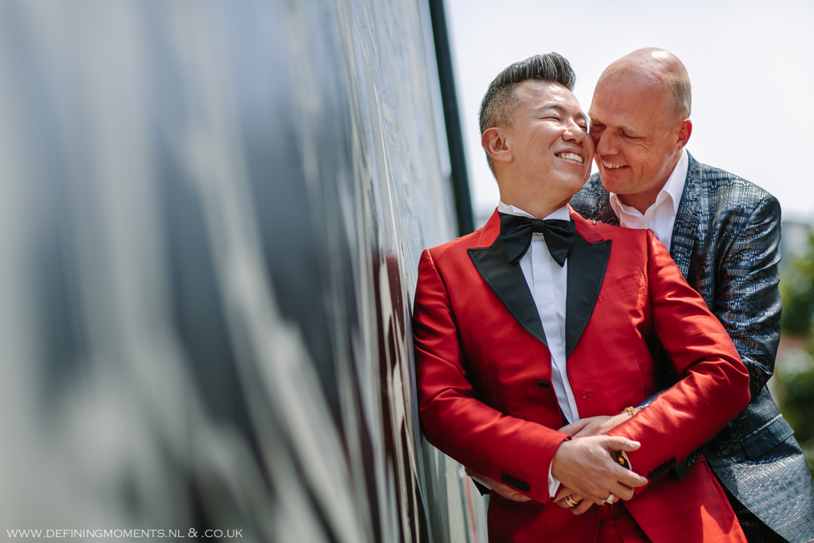 city portrait grooms gay lgbt same_sex grooms documentary wedding photographer brighton story_telling photography surrey unique wedding chapel venue