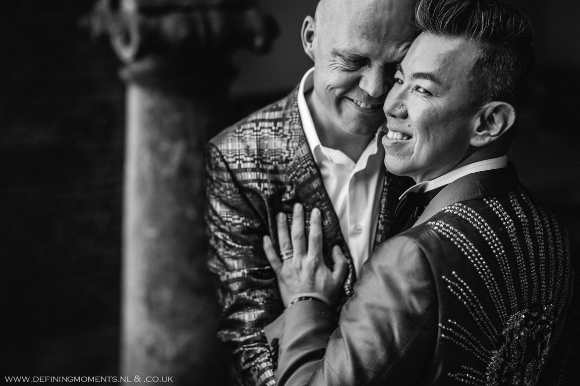 close-up city portrait gay lgbt same_sex grooms documentary wedding photographer brighton story_telling photography surrey unique wedding chapel venue