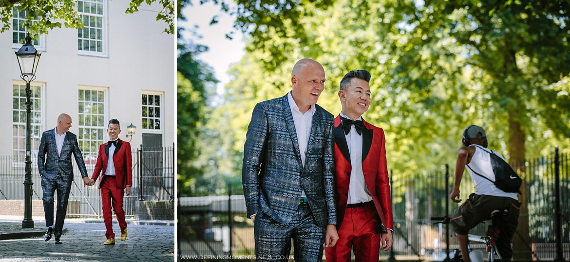 city portrait gay lgbt same_sex grooms documentary wedding photographer brighton story_telling photography surrey unique wedding chapel venue