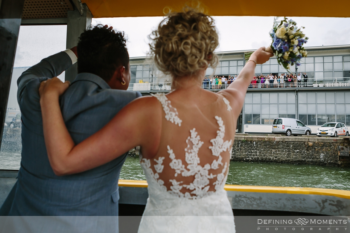 watertaxi wedding_portraits  industrial wedding venue rotterdam vertrekhal award-winning surrey documentary wedding photographer natural stylish authentic unposed contemporary wedding photography