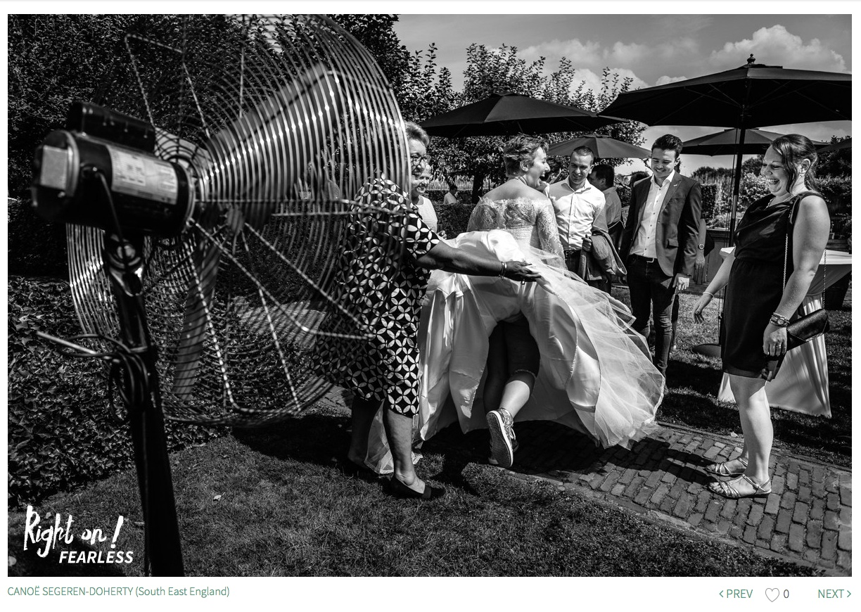 bride fan award-winning documentary journalistic authentic wedding photographer surrey natural stylish contemporary unposed photography guildford dorking leatherhead horsham reigate redhill