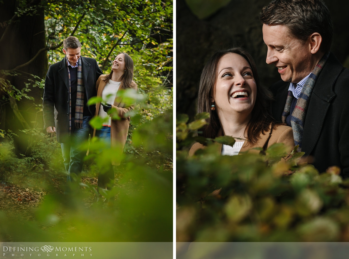 close-up forest surrey hills pre-wedding shoot outdoor couple photography love engagement nature box hill documentary journalistic wedding photographer