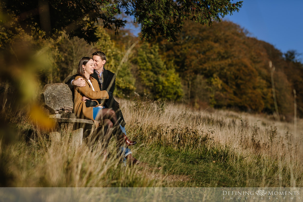 grass surrey hills pre-wedding shoot outdoor couple photography love engagement nature box hill documentary journalistic wedding photographer