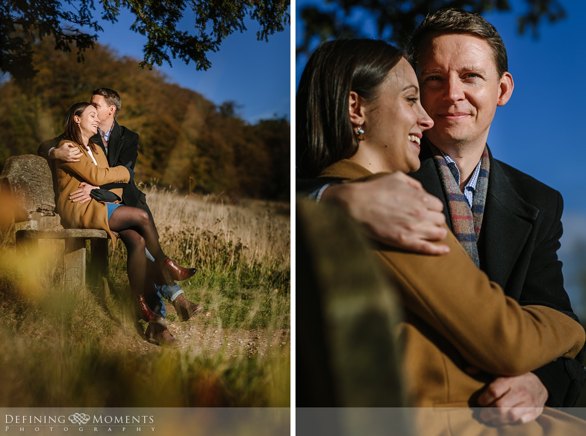 close-up grass surrey hills pre-wedding shoot outdoor couple photography love engagement nature box hill documentary journalistic wedding photographer