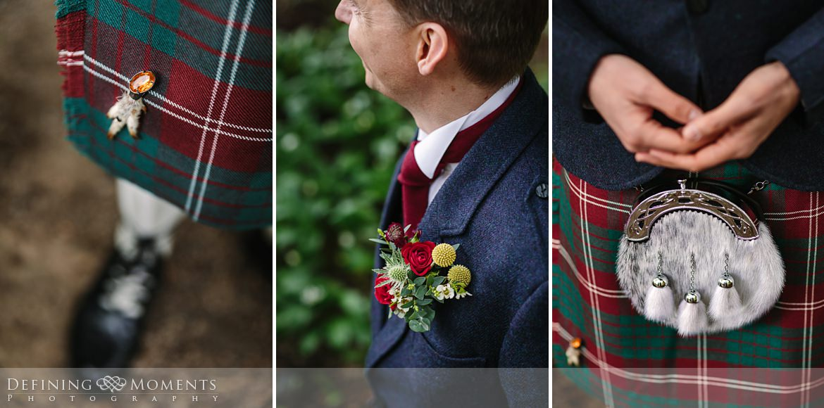 kilt details portrait shoot couple session bride groom authentic natural unposed wedding photography real_moments emotions surrey award_winning best photojournalistic photographer
