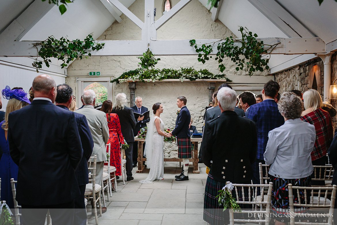 barn wedding ceremony bride groom authentic natural unposed photography wyresdale_park real_moments emotions surrey photojournalistic photographer