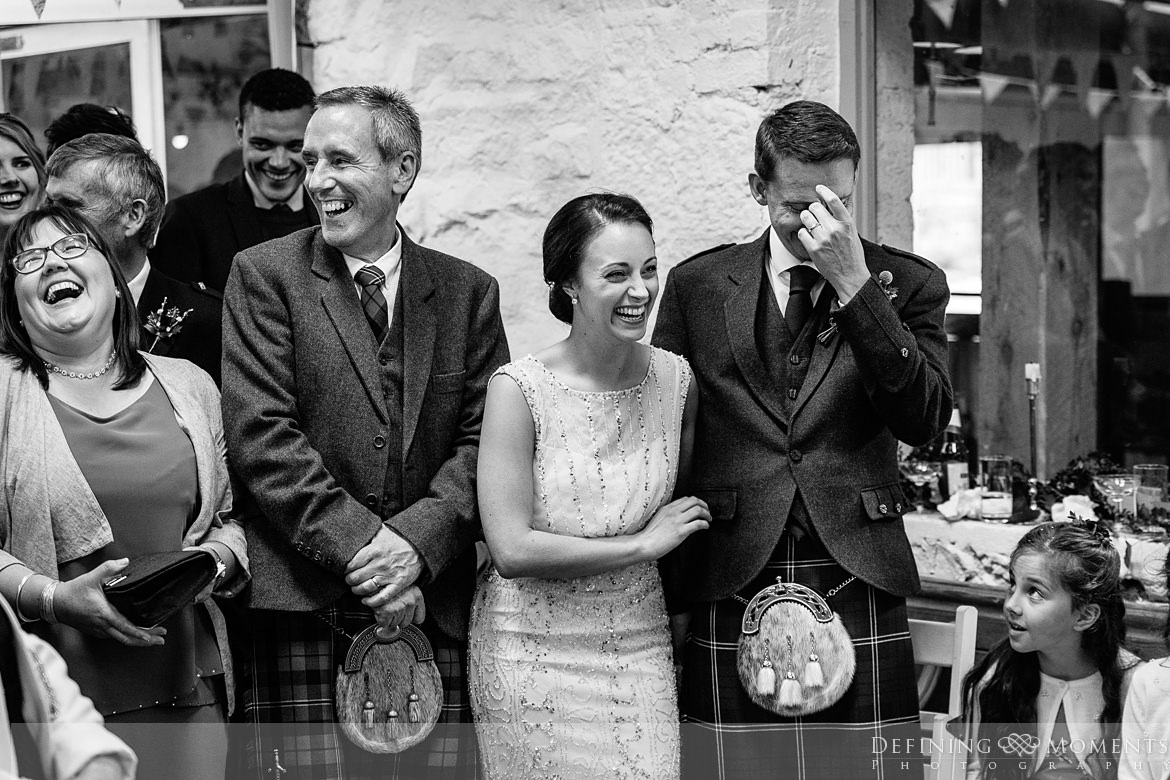 wedding reception speeches bride groom barn wedding_ceremony authentic natural unposed journalistic documentary photography wyresdale_park surrey photojournalistic photographer