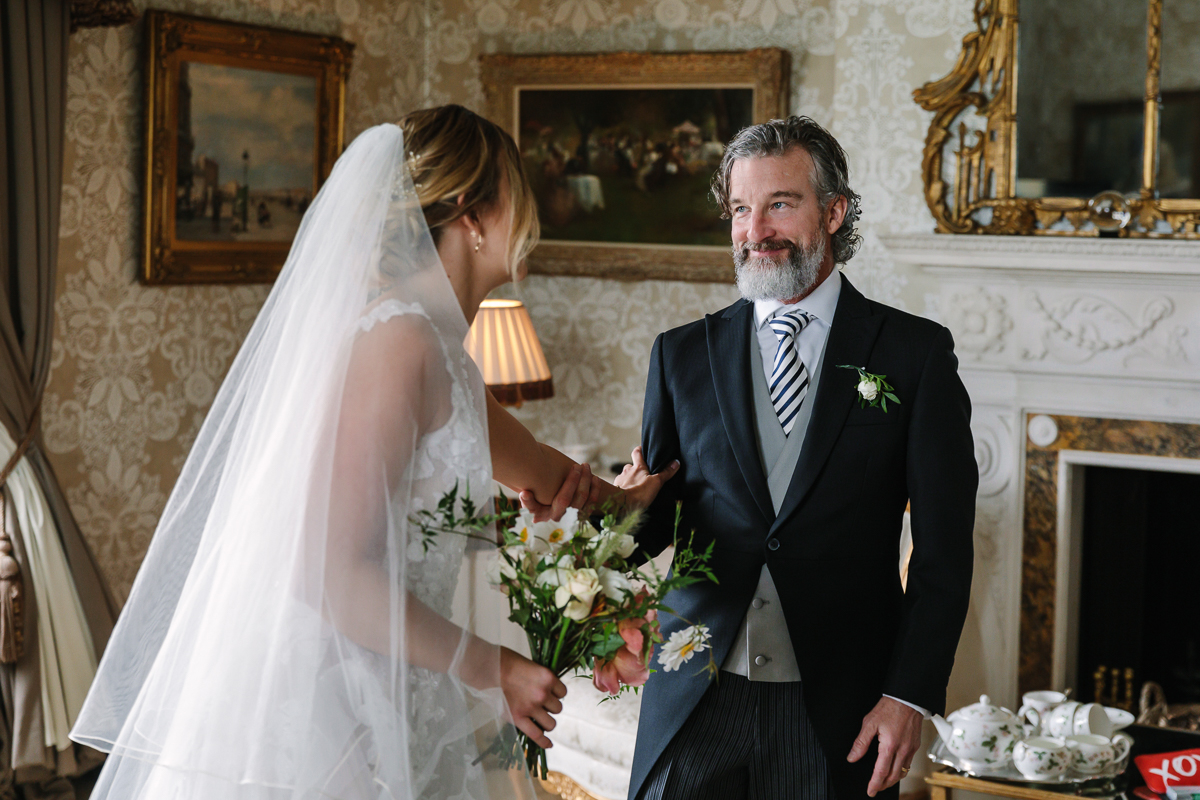 father_of_the_bride cowdray_house bridal_preps diamond_room bridesmaids bride wedding_day real_moments emotions authentic natural unposed documentary journalistic wedding photography west_sussex photographer
