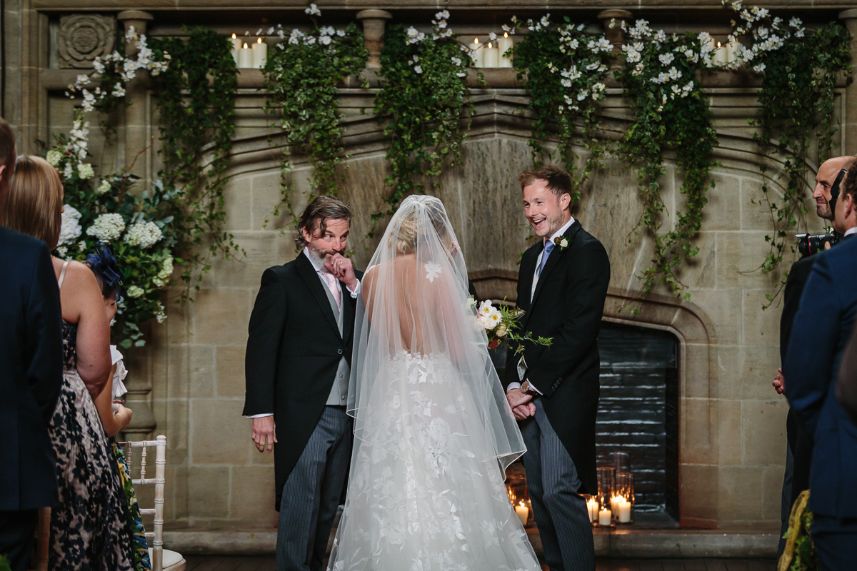 first_look cowdray_house wedding ceremony buck_hall  bride groom getting married real_moments emotions authentic natural unposed documentary journalistic wedding photography west_sussex photographer