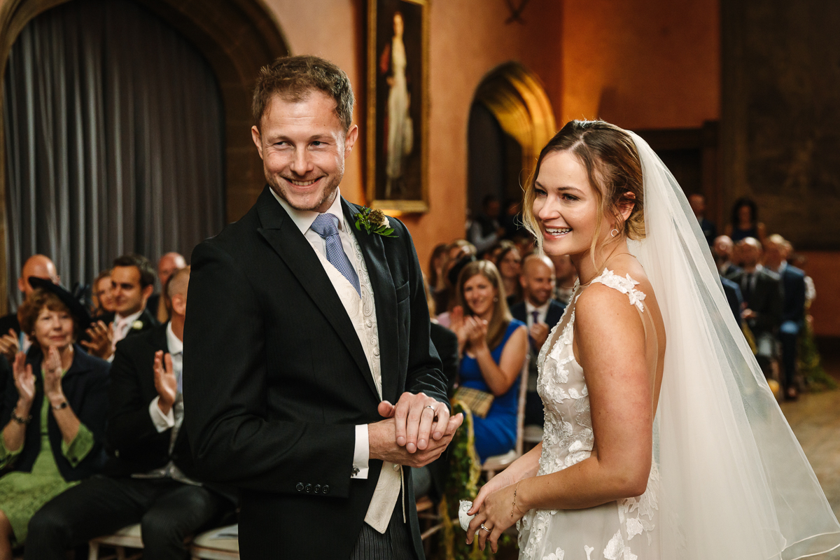 cowdray_house wedding ceremony buck_hall  bride groom getting married real_moments emotions authentic natural unposed documentary journalistic wedding photography west_sussex photographer