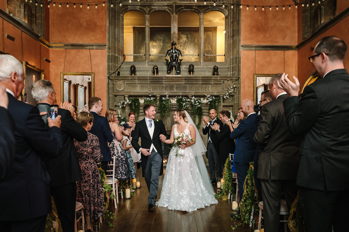 just_married cowdray_house wedding ceremony buck_hall  bride groom getting married real_moments emotions authentic natural unposed documentary journalistic wedding photography west_sussex photographer