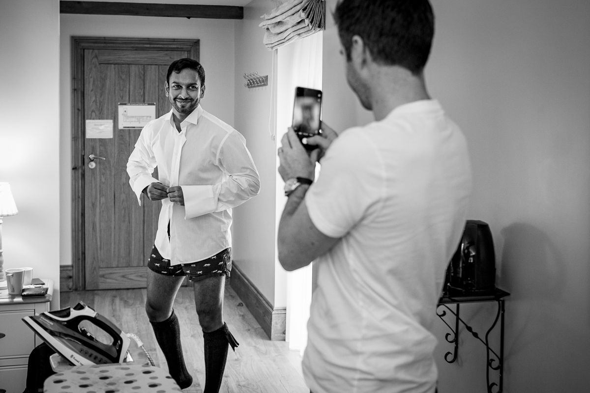 maidens_barn groom preps groomsmen wedding_day real_moments emotions authentic natural unposed documentary journalistic wedding photography essex photographer