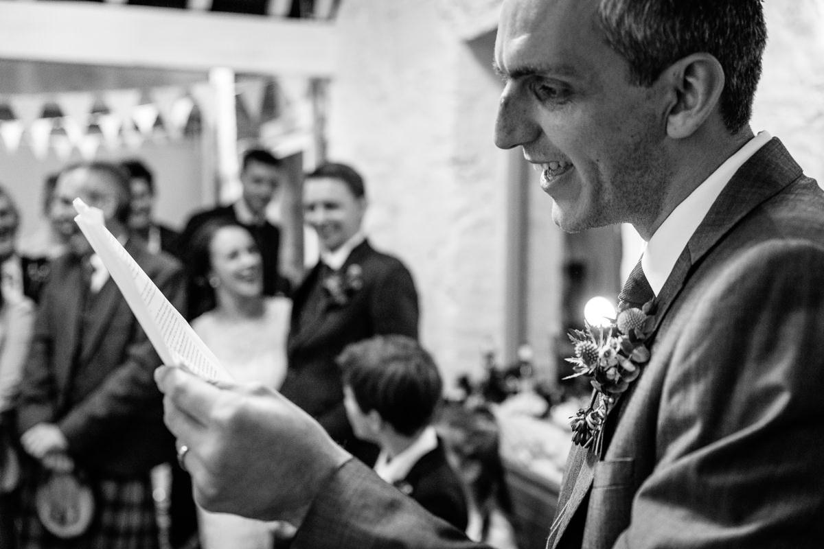 wedding speeches black_white wedding photo journalistic documentary reportage photographer photo surrey