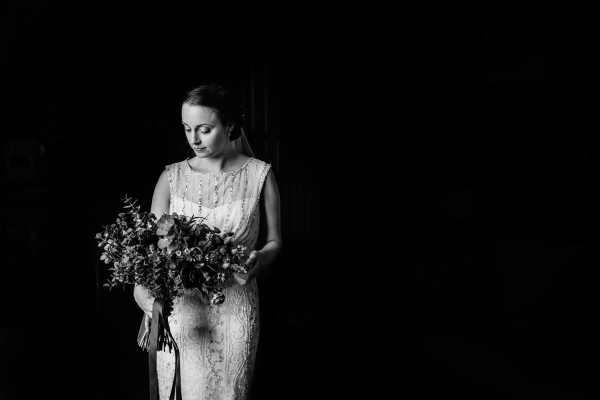 black_white portrait bride photo journalistic documentary reportage photographer photo surrey