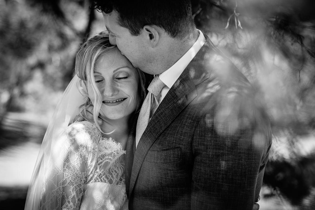 black_white bride groom portrait award-winning international wedding photographer surrey best photojournalistic documentary reportage photographer photo