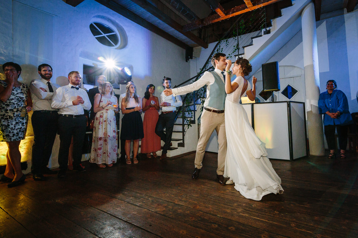 bride groom opening dance first party journalistic documentary reportage photographer photography photo surrey