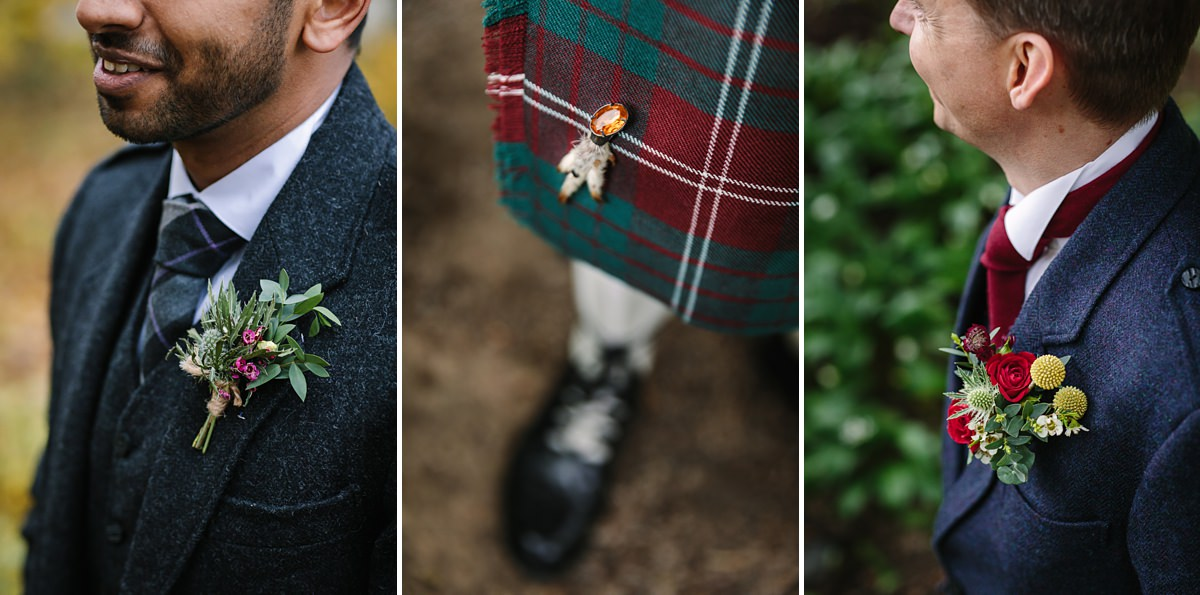 scottish scotch kilt wedding detail journalistic documentary reportage photographer photography photo surrey
